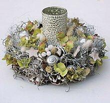 FRI-Collection Adventskranz mit Teelichtglas