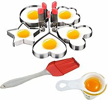 Fried Egg Form Ring Pancake Herd Aluminiumguss