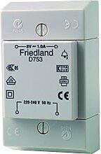 Friedland D753 Klingeltransformator VDE / Aufputzmontage