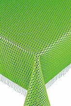 Friedola 20266 Gartentischdecke Rustikal, Design-Purism, 130 x 160 cm,  grün