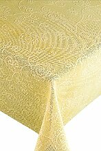 Friedola 25833 Gartentischdecke Capri, Design-Romantica, 130 x 180 cm hrd., vanilla