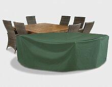 Friedola Schutzhülle für Sitzgruppe dunkelgrün
