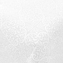 friedola Wachstuch Premium Marokko Weiss · Eckig
