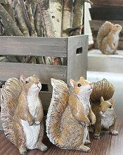 FRIENDS Eichhörnchen Figuren, 4er Set