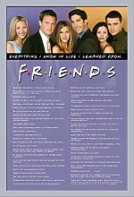 Friends - Everything I Know - Filmposter Kino