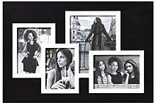 Friends Galerierahmen, 4 Fotos, schwarz/weiß