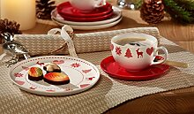 Friesland Kaffee-Gedeck 3tlg. Happymix