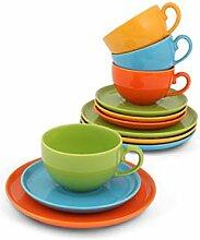Friesland Kaffee-Set 12tlg. Happymix Bun