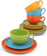 Friesland Kaffee-Set 12tlg. Happymix Bunt