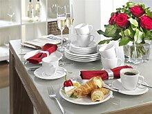 Friesland La Belle weiß Kaffee-Service 18 teilig