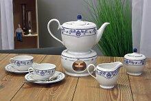 Friesland Tee-Service 8tlg. Atlantis Friesisch Blau