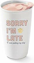 Fringe Studio 763016 Travel Ceramic Mug, 12 oz,