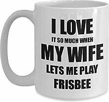 Frisbee-Becher-lustige Geschenkidee für Ehemann
