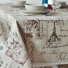 Frisch Tischdecke Eiffelturm, abwischbar,