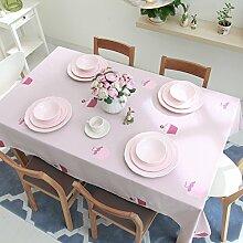 Frisch und schön gestickte Tischdecke/Tischdecke decke/Tischdecken/ Tischtuch/Tischdecke decke-A 200x140cm(79x55inch)