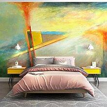 Frische Nordische Tapete Schlafzimmer Nachttisch