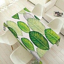 Frische pflanzliche Baumwolle und Leinen Tischdecke, Tuch, Couchtisch, Tisch Tischtücher, pastorale rechteckige Tischdecken , #2 , 110*140cm