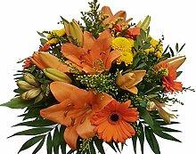 Frischer Blumenstrauß, Frische Blumensendung zum