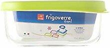 Frischhaltedose Frigoverre Fun 15x15cm Glas Grün