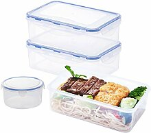 Frischhaltedose, Kunststoff Lebensmittelbehälter,