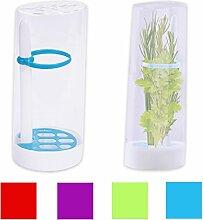 Frischhaltedose Vorratsdose Dose Behälter für Kräuter 25 x 11 x 8,5 cm aus Kunststoff in 4 Farben