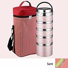 Frischhaltedosen Set Lunchbox Stapelbarer Runder