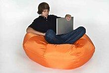 Fritz-Sitzsack Donut in orange