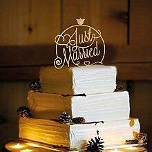 Frog Studio Home Rustikal Hochzeit Cake Topper,