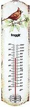 froggit Vintage Blechthermometer Gartenthermometer