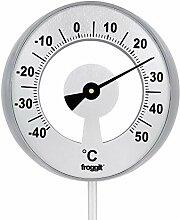 froggit XXL Gartenthermometer (bis zu 117cm hoch)