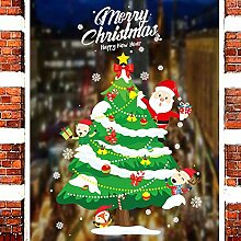 Frohe Weihnachten Familien Dekoration Fenster