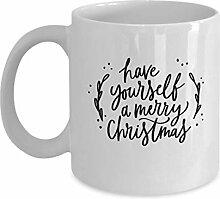 Frohe Weihnachten - Lustige Kaffeetassen Teetasse