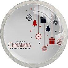 Frohe Weihnachten Ornamente-01 Küchenknopf