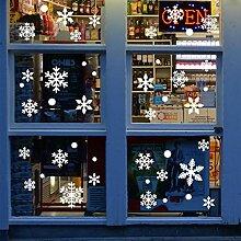 Frohe Weihnachten Wandaufkleber Blatt Fenster