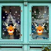 Frohe Weihnachten Wandaufkleber DIY