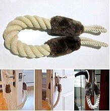 Froiny 1PC Seil Zuschlagen von Türen Halt Keil
