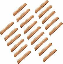 Frolahouse Schubladengriffe aus Holz, für