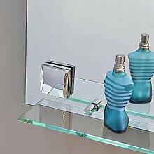 Frontsteckdose für Concept2u Spiegel - Chrom glänzend links