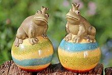 Frosch Froschkönig Deko Gartendeko Teichdeko