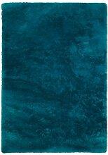 Froschkönig24 14640 Teppich Petrol 60x110 cm