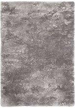 Froschkönig24 14650 Teppich Silver Silber 60x110