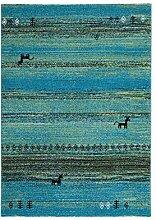 Froschkönig24 14787 Teppich Türkis 160x230 cm