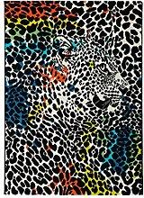Froschkönig24 14949 Teppich Leopard Leopard