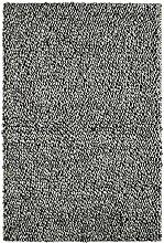 Froschkönig24 18760 Teppich Handgefertigt Silber