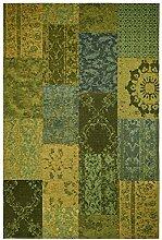 Froschkönig24 18833 Teppich Grün 200x290 cm