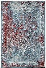 Froschkönig24 18878 Teppich Türkis 155x230 cm