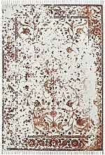 Froschkönig24 18986 Teppich Handgefertigt Braun