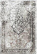 Froschkönig24 19148 Teppich Taupe 160x230 cm