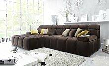 Froschkönig24 LEON Couch Schlafsofa Sofa