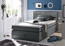 Froschkönig24 New Bed 140x200 cm Boxspringbett